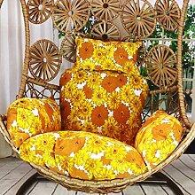 ZZ-aini Blume Baumwolle und leinen Sitzkissen,