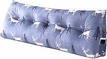 ZZA Bedside Cushion Bett Wedges Großes