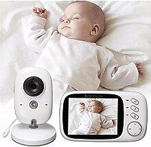 ZZAZXB Babyphone mit Kamera Video Baby Monitor 3,2