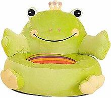 Zzcostumes Kindersessel mit grünem Frosch 50x40 cm