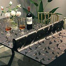 ZZFF Wasserdichter Kunststoff Tischschutz,