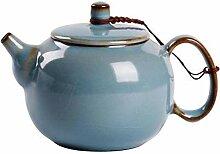 ZzheHou Keramische Teekanne Keramik Teekanne