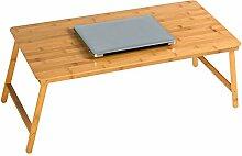 ZZHF Faltbarer Laptop-Schreibtisch Bett mit