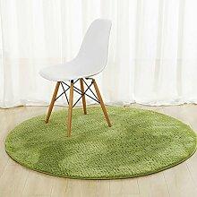 ZZHF Normallack-runder Teppich / Wohnzimmer-Couchtisch-Sofa-Fußauflage / Schlafzimmer-Nachttisch-Matte / hängender Korb-Computer-Stuhl-Teppich teppich wohnzimmer ( Farbe : G , größe : 100cm )