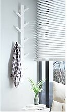 ZZHF yimaojia Kreative Baum Zweige Garderobe / Wandmontage / Einfach / Wand Foyer Rack / Woody Schlafzimmer / Kleiderbügel Kleiderständer ( Farbe : B-120cm )