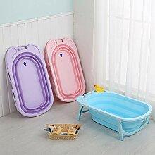 ZZHK Babywanne, aufblasbare Badewanne für