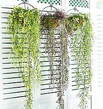 ZZJJWW Simulation Blumen Hängende Orchidee