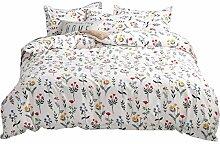 zzkds Bettwäscheset Schlafzimmer dreiteiliger
