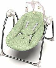 ZZKJCCF Baby-Elektrischer Schaukelstuhl,