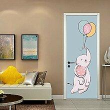 zzlfn3lv Elefant Zimmer Dekoration kreativer 3D -