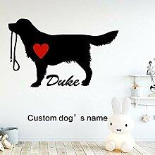 zzlfn3lv Niedlichen Hund Duke Aufkleber
