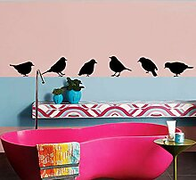 zzlfn3lv Vinyl - Wand Aufkleber DIY - Vogel Art
