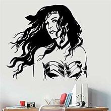 zzlfn3lv Wonder Woman Vinyl Wandaufkleber DC