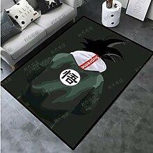 zzqiao Rechteckiger Teppich Home Tide Brand Strip