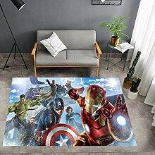 zzqiao Teppich Kreative Persönlichkeit Avengers