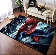 zzqiao Teppich Kreative Persönlichkeit Spider-Man