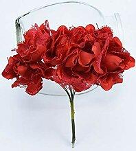 ZZQQ 6pcs dekorative Blumen Kränze