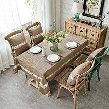 ZZUU Tischdecke Chenille, für die Küche,