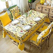 ZZUU Tischdecke Leinwand, für die Küche,