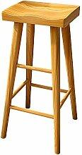 ZZWBOX Barhocker Holz,barhocker mit