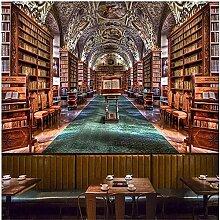 ZZXIAO 3D European Style Retro Bücherregal