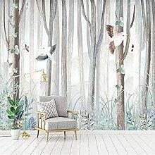 ZZXIAO Bäume Tiere Blumen und Vögel Tür