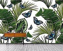 ZZXIAO Bananenblatt Schmetterling Seitenwand