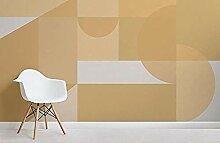 ZZXIAO Gelbe geometrische Formen Modernes