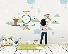 ZZXIAO Grafiken Seitenwand Tapete Grafiken für