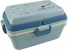 ZZZKG Hohe Qualität Lunch Box, Studenten Lunch