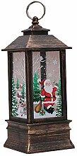 ZZZM Weihnachts-Laterne für Weihnachten,