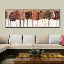 ZZZSYZXL Art und Weise klassische dekorative Malerei verlässt Ejecta Schlafsofa Wohnzimmer rahmenlos Gemälde , a , 30x90