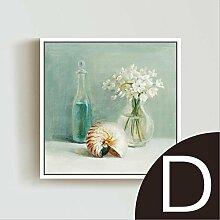 ZZZSYZXL Mediterranen Stil Malerei dekorative Malerei Wohnzimmer Restaurant Schlafzimmer Kombination Wand