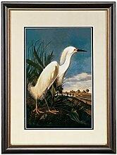 ZZZSYZXL Tier Heron Wandmalerei Esszimmer Wohnzimmer Schlafzimmer mit Rahmen Malerei verziert , a models 59*43cm